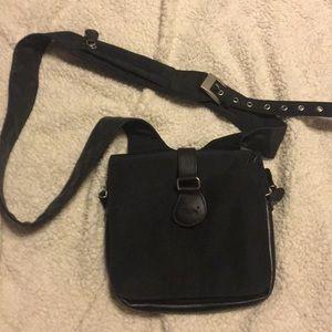 Ameribag Messenger/Crossbody Bag Nylon Lthr
